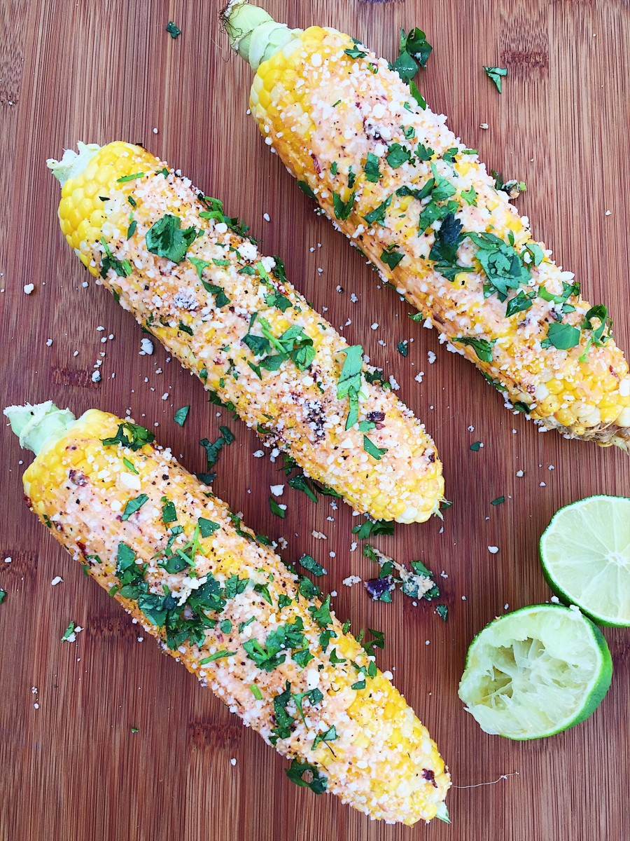 Trio of Mexican Sweet Corn
