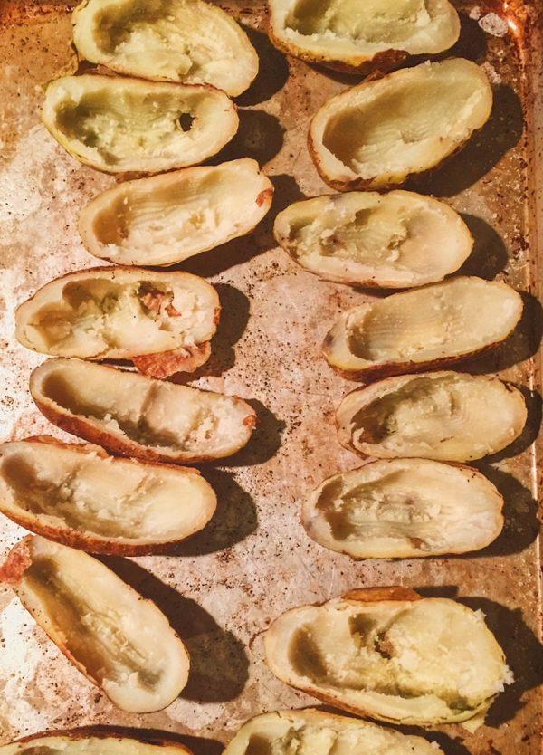 Scooped Potatoes